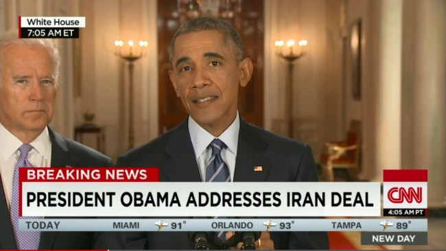 Conservative Media Predictably Craps All Over Iran Nuclear Deal Because, Ya Know, Obama