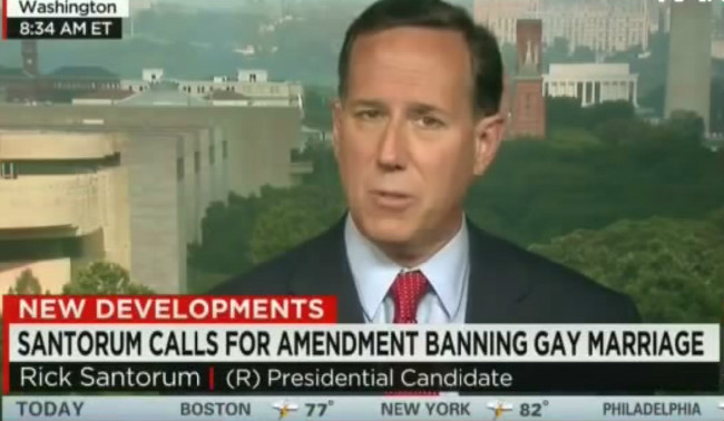 """CNN's Chris Cuomo To Rick Santorum: """"Why Aren't You More Like Your Pope"""" On Gay Marriage?"""