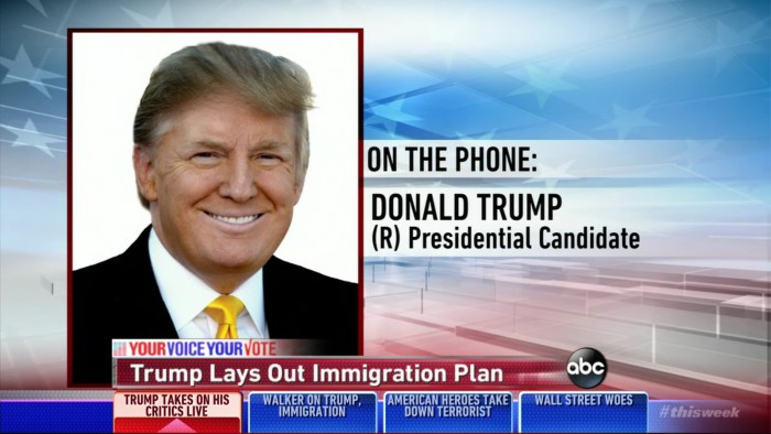 "Donald Trump On Immigration Plan: ""My Specifics Are Simple — I'm Going To Get Great People"""