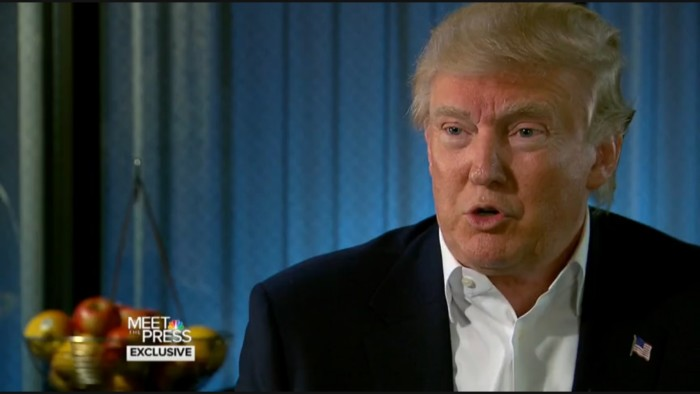 Donald Trump: I Get My Military And Foreign Policy Advice From Television Shows
