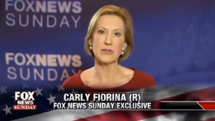 Carly Fiorina: Only Those Who've Seen Imaginary Abortion Video Can Say I'm Lying About It