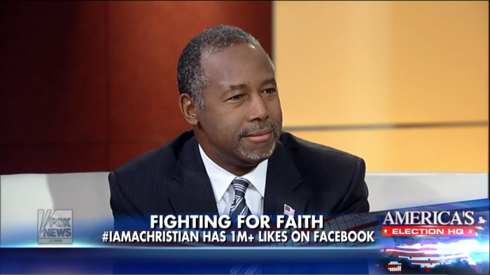 "Super Badass Ben Carson On Oregon Shooter: ""I Would Not Just Stand There And Let Him Shoot Me"""