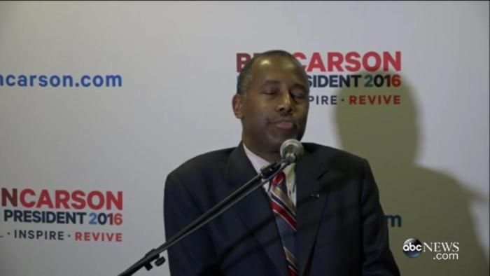 Ben Carson Immediately Walks Back Remarks Backing Up Donald Trump's Insane 9/11 Claims