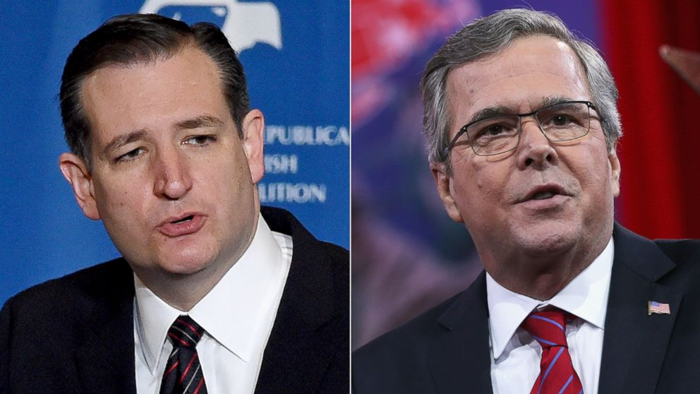 Jeb And Cruz, Who Want To Only Allow Christian Refugees, Think Trump's Muslim ID Plan Is Too Much
