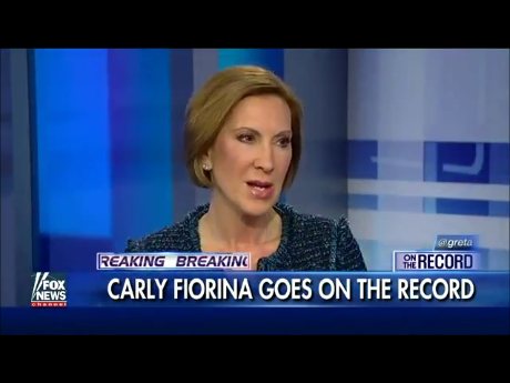 "Carly Fiorina: ""We Need to Take Back Our Country"""