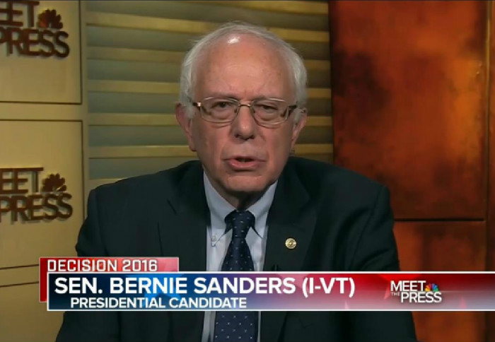 Bernie Sanders: Trump's Vulgarity Isn't The Issue, It's His Belief That Wages Are Too High