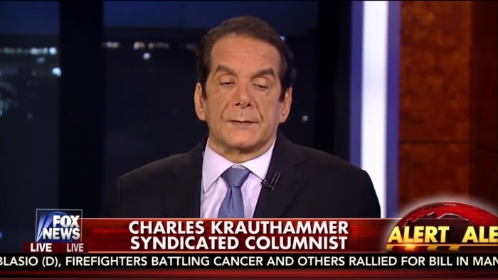 Fox's Charles Krauthammer: Muslims Have Been Treated With Respect And Restraint Since 9/11