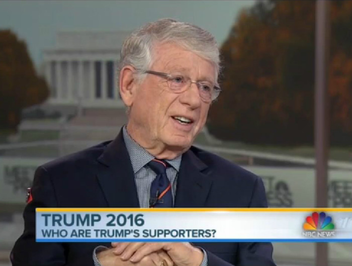 "Ted Koppel On 'Meet The Press': Donald Trump Is The ""Recruiter-In-Chief For ISIS"""