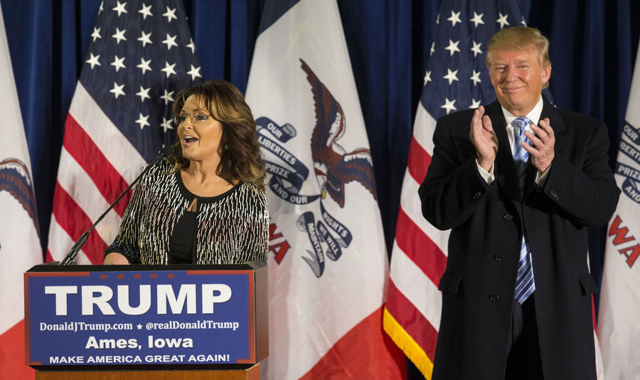 Palin's Endorsement Backfires As 55% Of NH Voters Now Less Likely To Vote For Trump