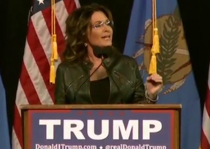 Did Sarah Palin Blame Her Son's Domestic Assault Arrest On Obama? You Betcha!