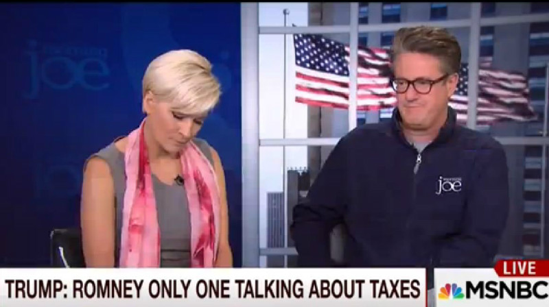 Joe Scarborough Predictably Comes To Trump's Defense Over Release Of Tax Returns