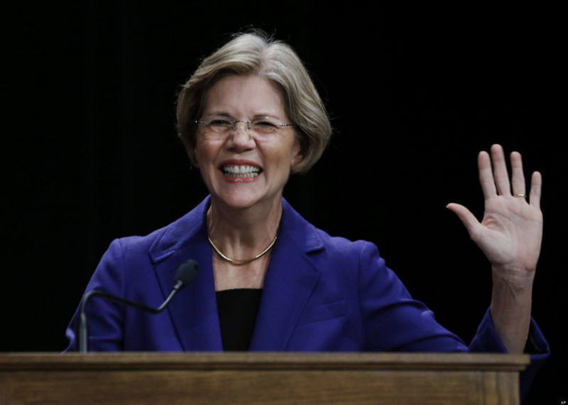 "Elizabeth Warren: ""Let's Be Honest — Donald Trump Is A Loser"""