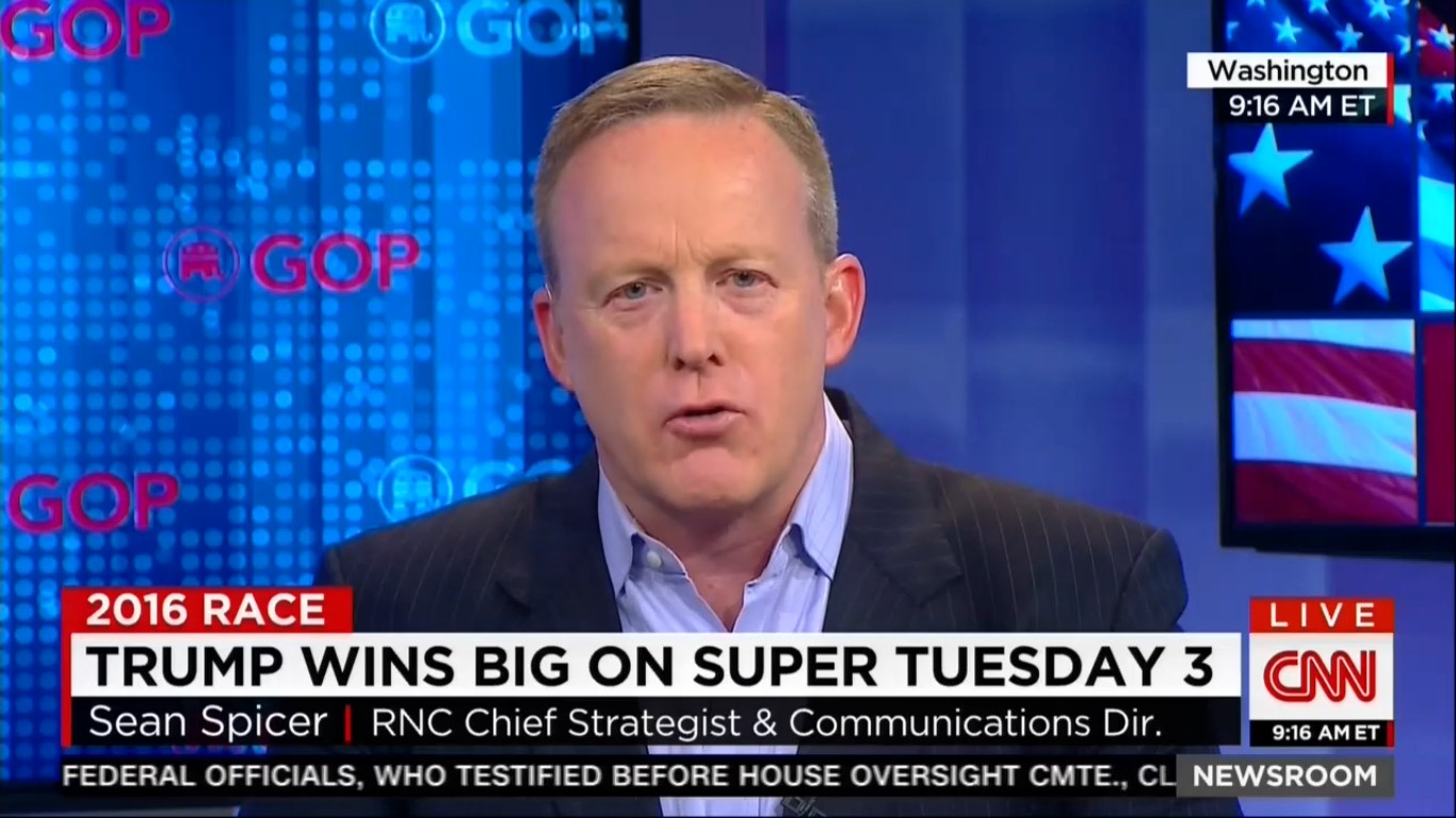 RNC Spokesman Claims Trump Was Only Speaking Figuratively About Riots At GOP Convention