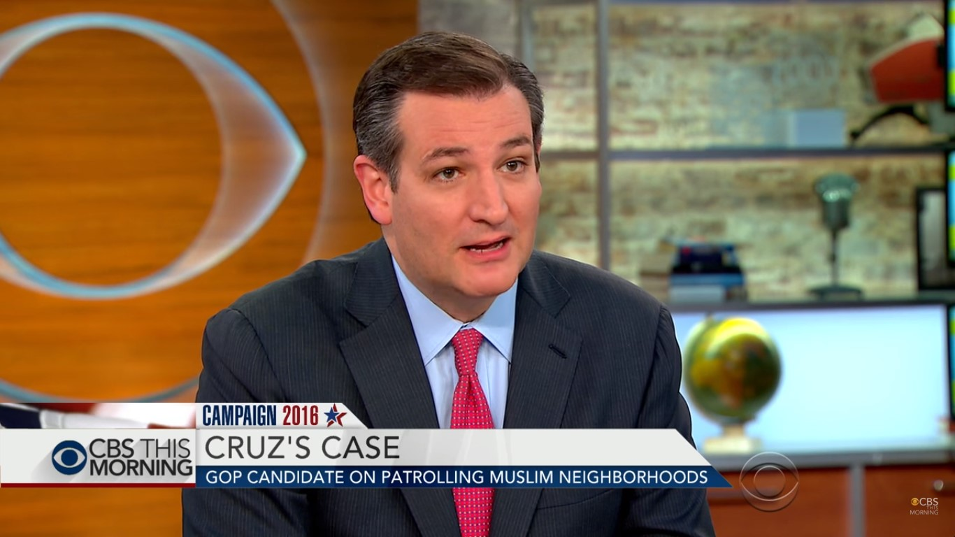 Ted Cruz Spends Wednesday Morning Getting His Ass Handed To Him Over His Muslim Patrol Plan