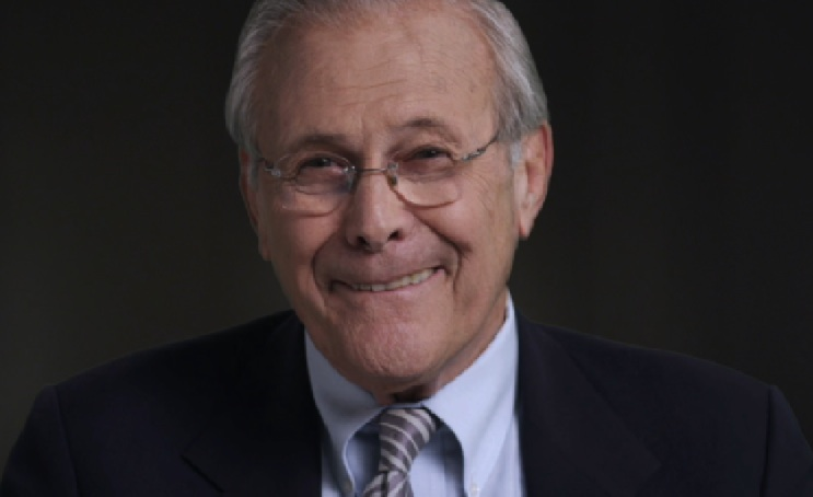 Donald Rumsfeld Wants To See Flat Tax Before He Dies. Others Want To See Him In Jail.