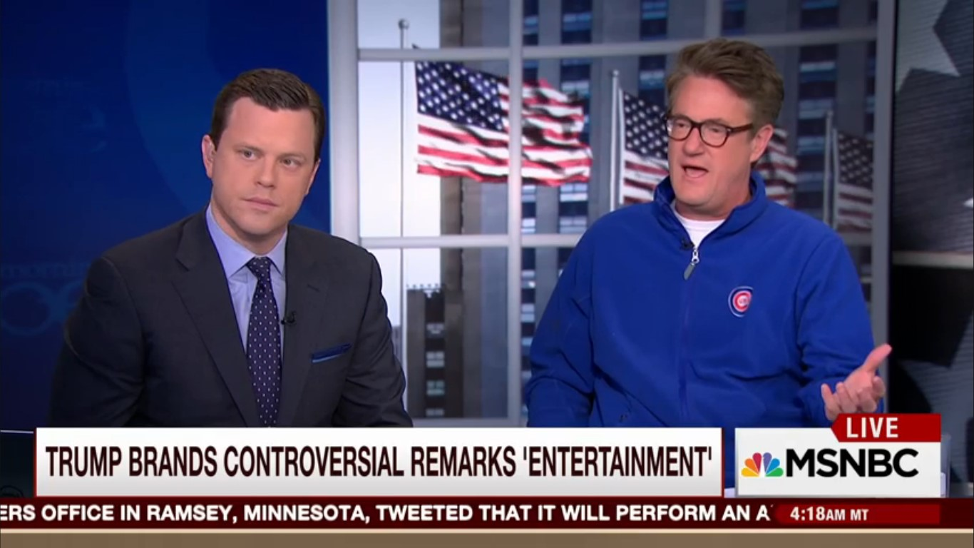 "Joe Scarborough On Donald Trump: ""He's So Flexible, He's Like Prince, A Shape-Shifter"""