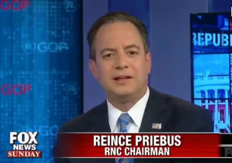 "RNC Chairman Reince Priebus: ""People Just Don't Care"" That Trump Mistreated Women"