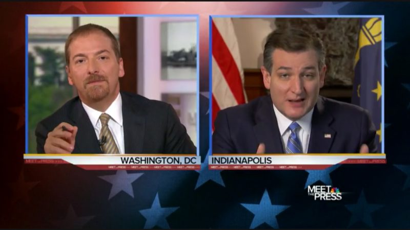 "Chuck Todd Gives Cruz The Hard Truth: ""Republican Voters Are The Ones Rejecting You!"""