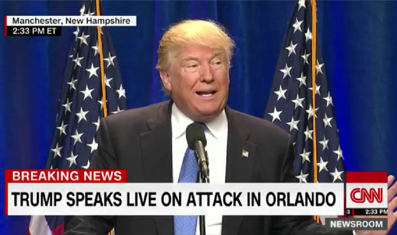 "Trump Claims American-Born Orlando Shooter Is From ""Afghan,"" Which Isn't A Country"