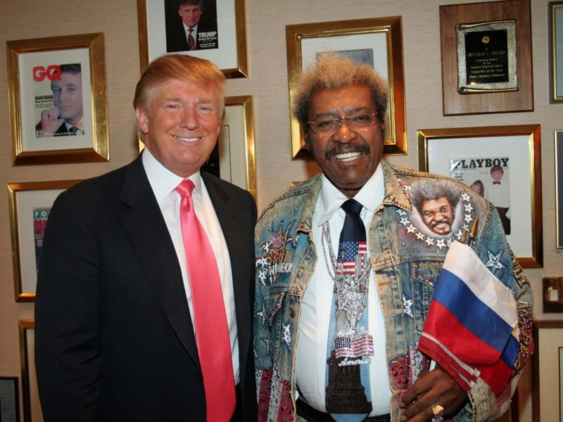 Donald Trump: Blacks Love Me And I'm Not Racist Because Don King Endorsed Me!