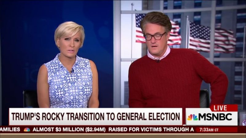 "Morning Joe: ""Trump's Preaching To The Choir, And The Choir's Getting Smaller"""
