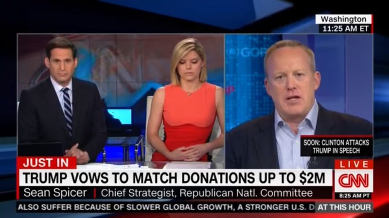 CNN Ain't Buying GOP's BS That Trump Can Write $100 Million Check To His Campaign