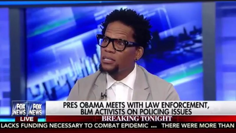 "D.L. Hughley: ""The Only Place Racism Doesn't Exist Is Fox News And The Police Department"""