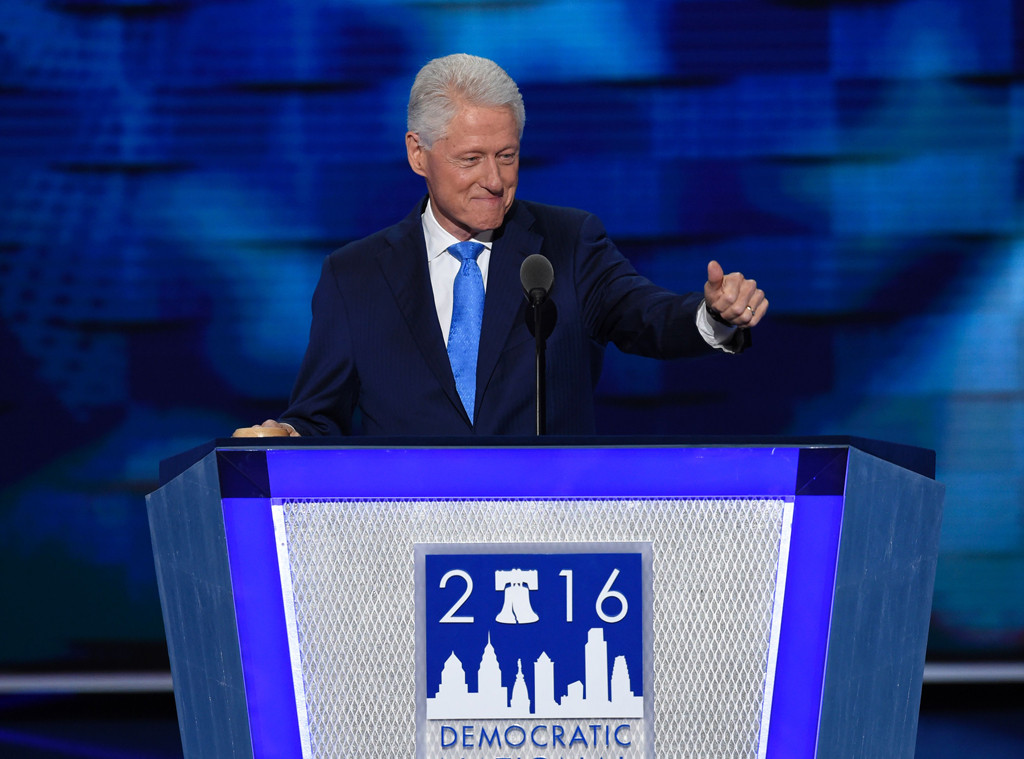 Bill Clinton's Speech Brought '90s Nostalgia To The Democratic Convention