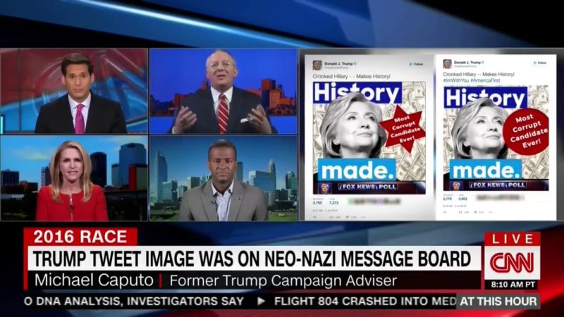 "Ex-Trump Adviser: Star Of David Tweet Not Offensive Because It's Just A ""Geometric Image"""