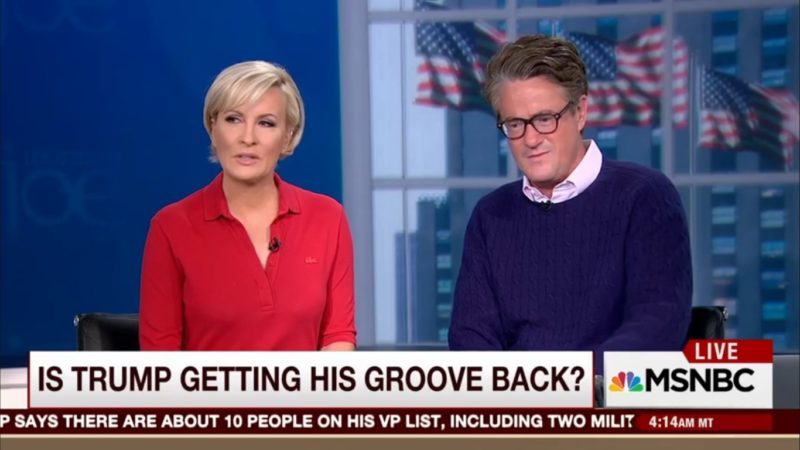 Morning Trump's Back! Joe And Mika Praise Trump's Unhinged Rambling Ohio Speech
