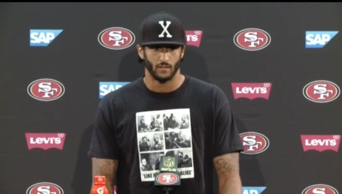 Colin Kaepernick Committed The Cardinal Sin Of Making White People Uncomfortable