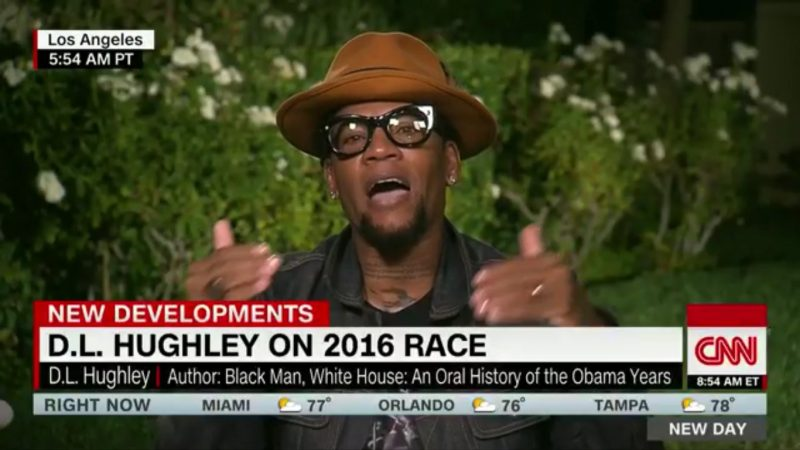 "DL Hughley: ""Donald Trump Being President Is Like Flavor Flav Winning A Spelling Bee"""