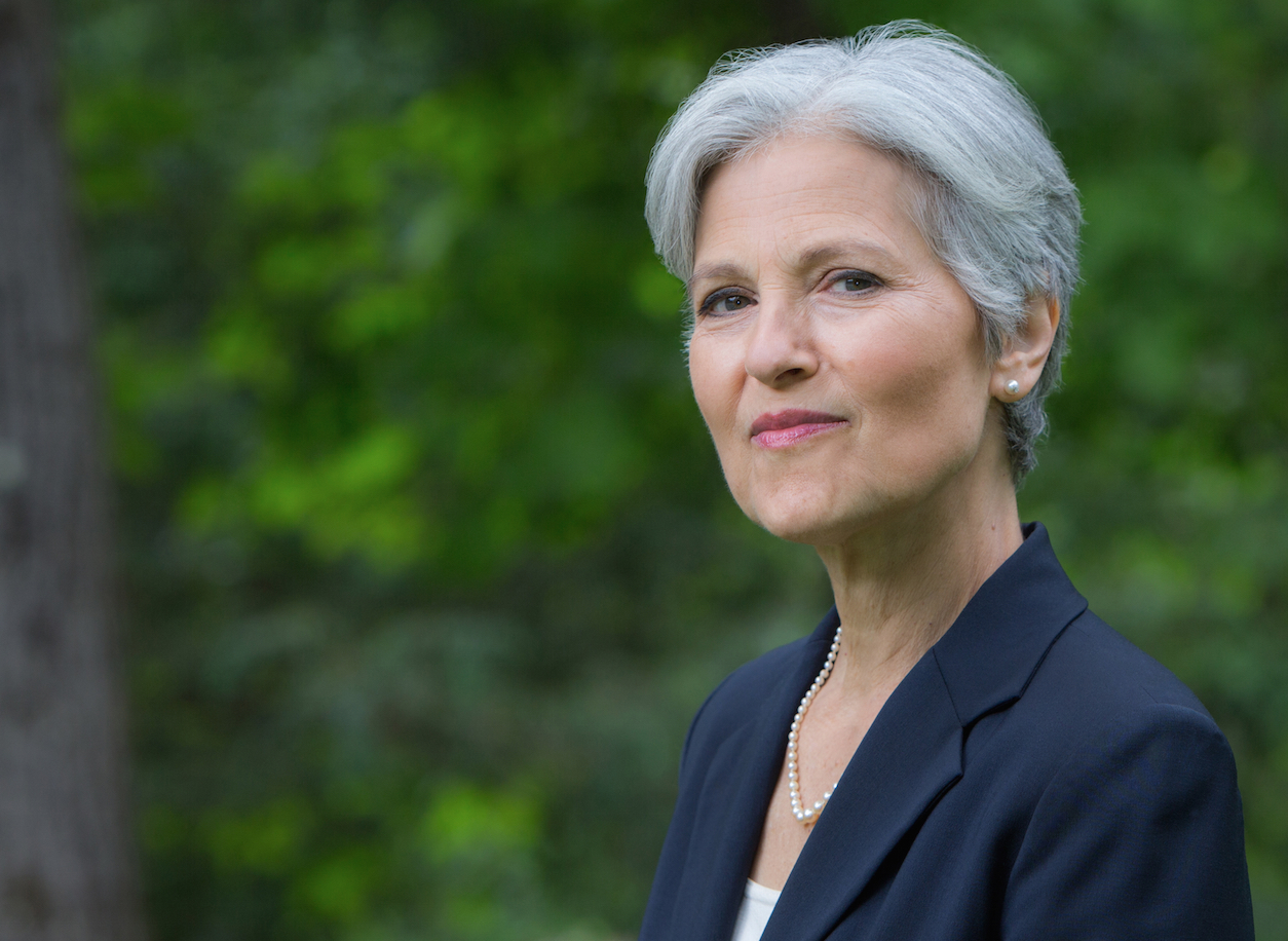 Jill Stein Hits Peak Jill Stein, Tweets About 3-Month Anniversary Of Harambe's Death