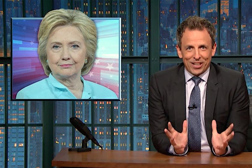 Seth Meyers On Trump's Campaign: The 12-Year-Old Is The Only One With 'His Shit Together'