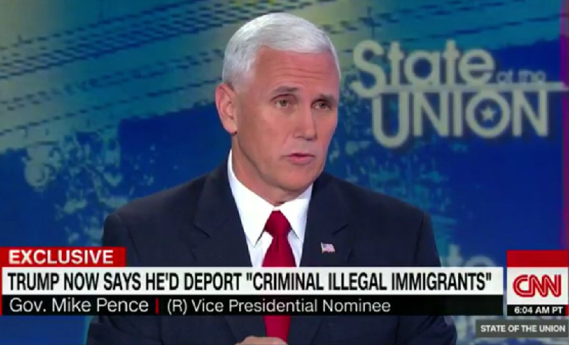 "Mike Pence: ""I Think The Whole Question Of Anchor Babies…Is A Subject For The Future"""