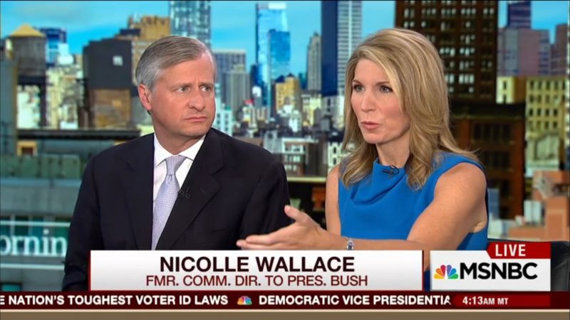 "Nicolle Wallace Says GOP Has Crashed And Entered ""Black Box Phase"" Under Trump"