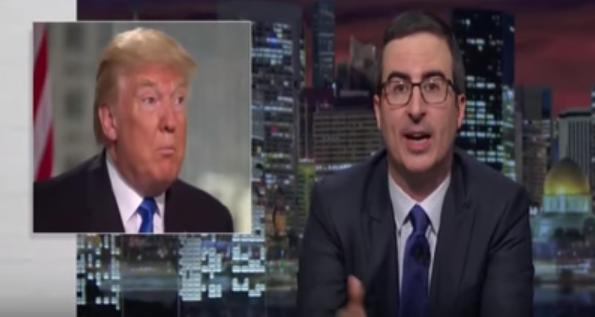 John Oliver To Donald Trump: Drop Out And Teach Us All A Lesson