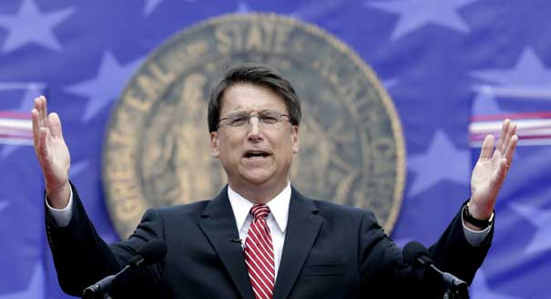 North Carolina's 'Bathroom Bill' Governor Heading For Re-Election Defeat