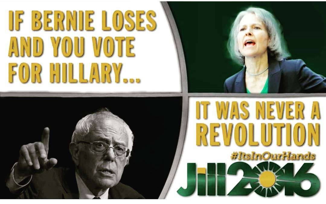Repeating Election 2000: #BernieOrBust Is Political Suicide