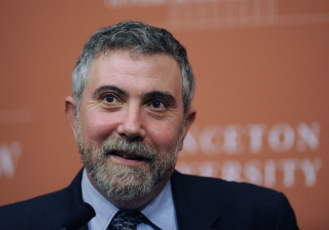 "New York Times' Paul Krugman Trolls Own Paper Over ""Bizarre Coverage"" Of Clinton Foundation"