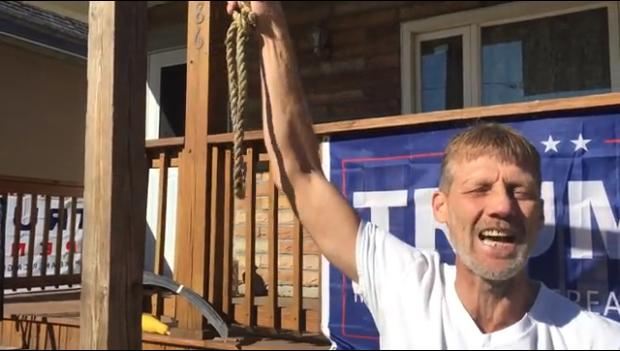New York Trump Supporter Puts Gallows In His Yard, Claims It's Not Racist