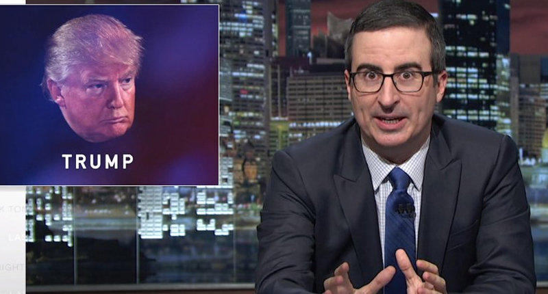 John Oliver Blasts GOP Over Trump: You've Supported Him Through Absolutely Heinous Shit