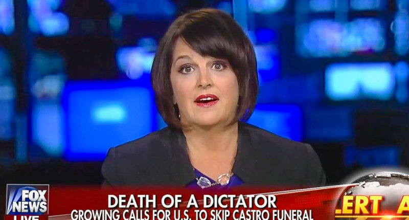Fox News Guest: Obama Should Make Sure Fidel Castro Is Really Dead