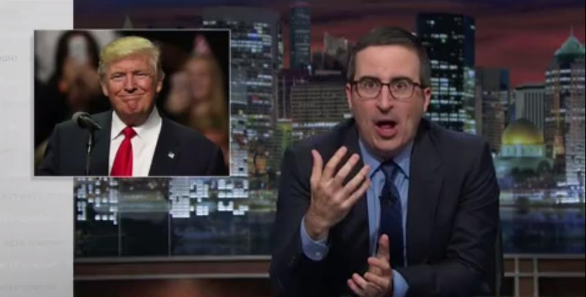 John Oliver Warns America: If The Chicago Cubs Can Win, So Could Donald Trump