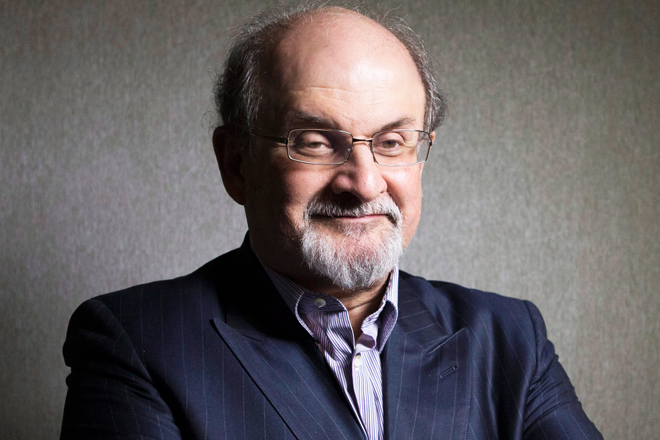 Author Salman Rushdie: Donald Trump Is A Sexual Predator