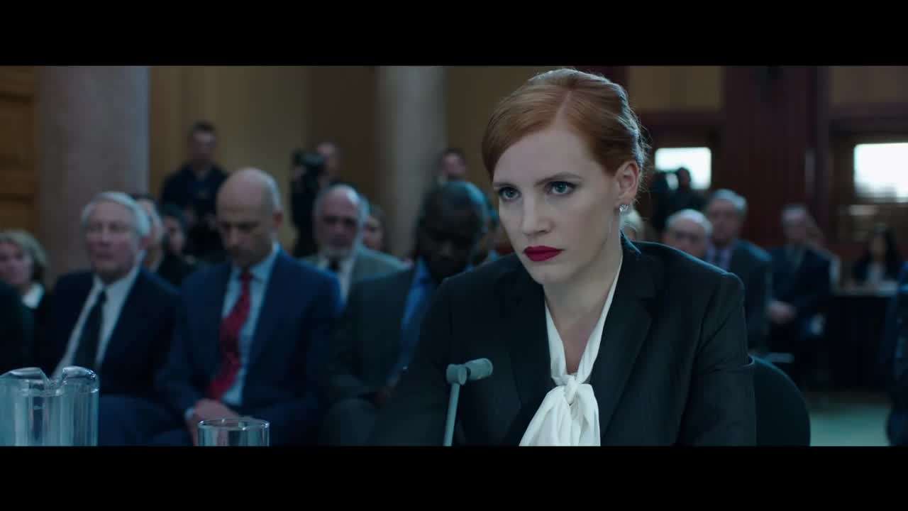 'Miss Sloane' Is A Relative Political Utopia In Which Legislative Gun Control Is Possible