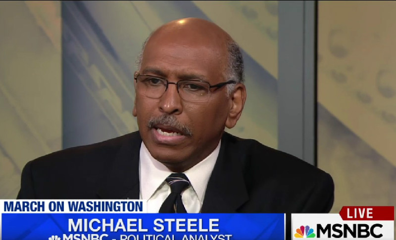 "Michael Steele On Trump Slamming John Lewis: ""#1, Don't Tweet That. #2, Don't Go There"""