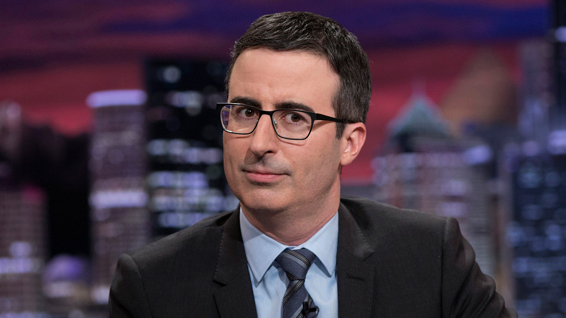 Watch: John Oliver Wonders Why Trump Is So Nice To Russia