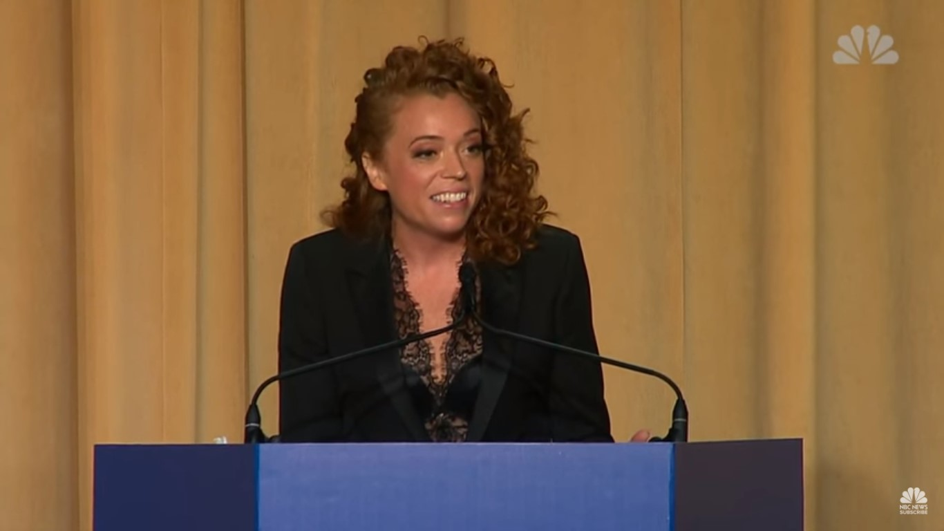 Michelle Wolf Claps Back At Trump: 'You'd Be On My Side if I Had Killed A Journalist'