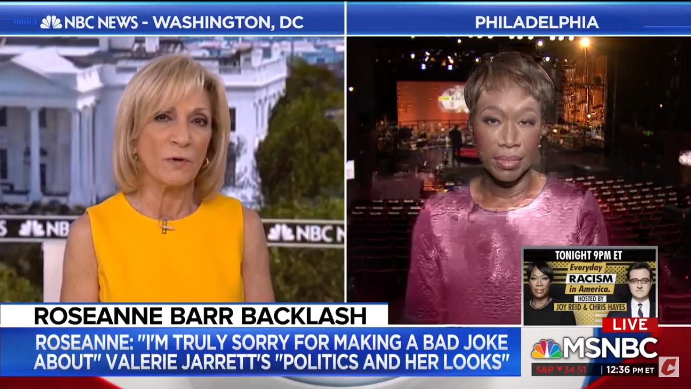 Andrea Mitchell Asks Joy Reid: What Do You Have To Do To Get Fired From A Top-Rated Show?